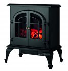Warmlite 2000w Log Effect Stove Fire Black